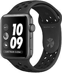 Apple Watch Nike+ 38mm vesmírně šedý hliník s antracitovým/černým Nike sportovním řemínkem
