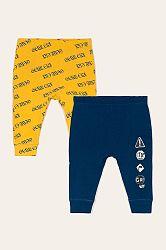 Blukids - Dětské kalhoty 74-98 cm (2 pack)