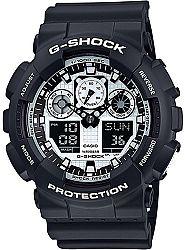 Casio G-Shock GA 100BW-1A