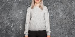 Dámská mikina Cheap Monday Open Knit Grey Melange S