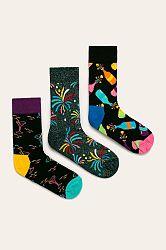 Happy Socks - Ponožky New Year's Gift Box (3-pak)
