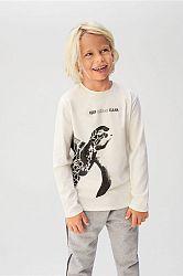 Mango Kids - Dětské tričko s dlouhým rukávem Oceans 110-164 cm