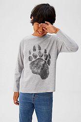 Mango Kids - Dětské tričko s dlouhým rukávem Spencers 110-164 cm