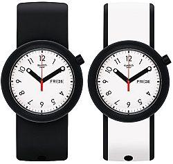 Swatch Oboustranné hodinky Popagain PNB700